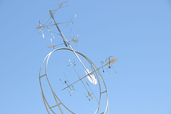 Airborne 208 Kinetic Sculpture